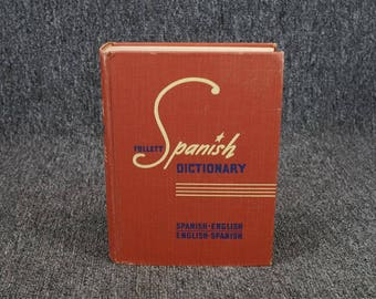 Follett Spanish Dictionary C. 1950