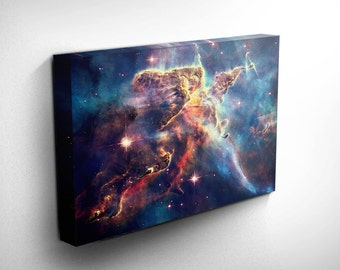 Hubble Nebula Outer Space Print - Astronomy Wall Art, Astronomy Wall Decor, Astronomy Art, Astronomy Print - Constellation Art, Galaxy