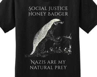 Social Justice Honey Badger