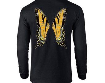 Orange Faerie Wings Longsleeve