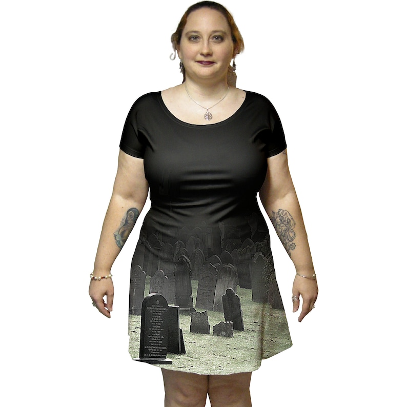 Cemetery Gates Tunic Dress image 0