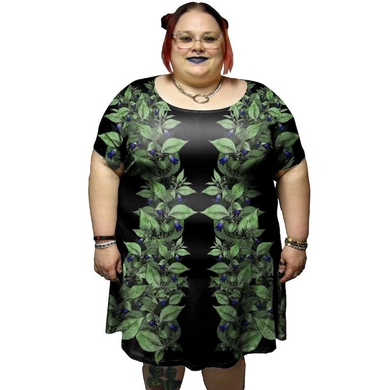 Deadly Nightshade Tunic Dress