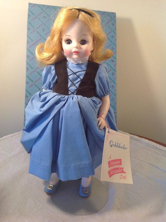 50e1fa7f7248c Vintage Madame Alexander Goldilocks doll - new in box! Goldilocks madame  alexander doll - collectible doll - Madame Alexander doll