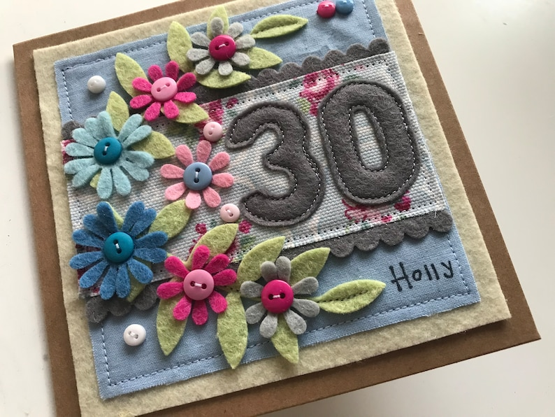 30th Birthday Card Daughter