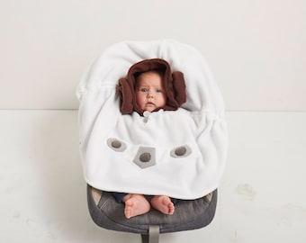 Baby & Kid Princess Leia Star Wars Fleece Poncho - Superhero - Car Seat Poncho
