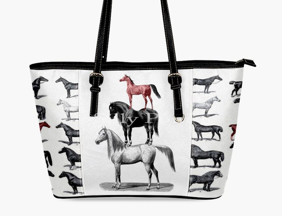 d66a97ae62 Black Horses Purse Red Horse Purse Horse Handbag horse