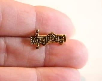 Gold Tone Jesus Tie Tack Lapel Pin Brooch