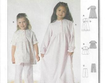 985e82bbe5 Girls  Nightgown   Pyjamas  Short or Long Sleeves