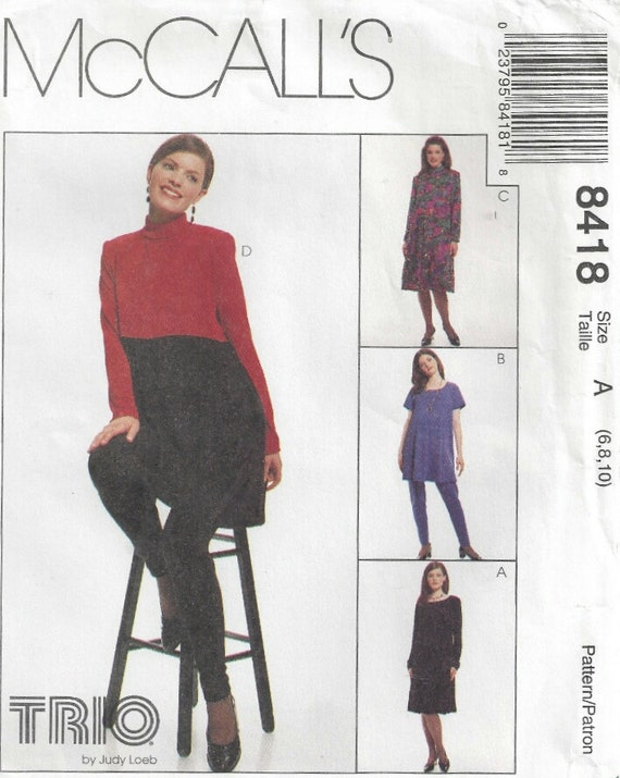 90s Raised Waist Maternity Tunic Dress Leggings Trio By Etsy