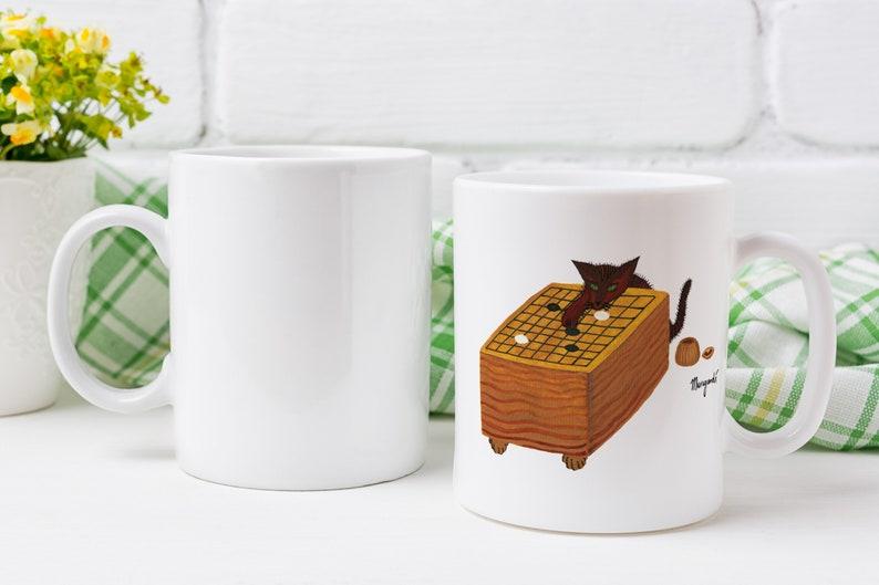 Sniffing the Third Line  Custom Ceramic Mug  Game of Go image 0