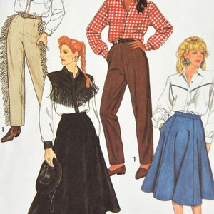 Wrap Skirt in Two Lengths Simplicity Size 18 Women Vintage Sewing Pattern 8758 Fashion Craft Seventies 1970s Plus Size