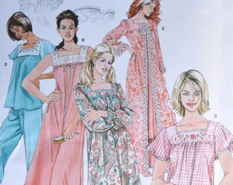 8b94cd7026 Simplicity Sewing Pattern No. 4048 Nightgown