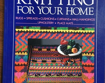 Knitting For Your Home by Liz Gemmell Deck chair patter, couch cover rugs patterns
