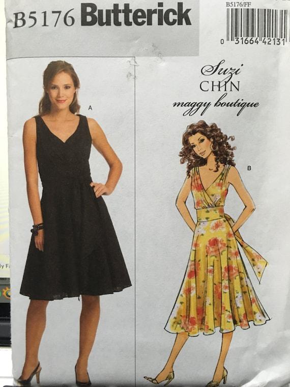 Butterick Schnittmuster OOP Butterick B5176 Muster Kleid von | Etsy
