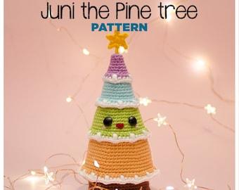 Juni the Pine tree - (DIGITAL PATTERN in English - Español)