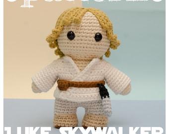 PATTERN LUKE SKYWALKER Star Wars - tribute (pattern in English - Español - Português)