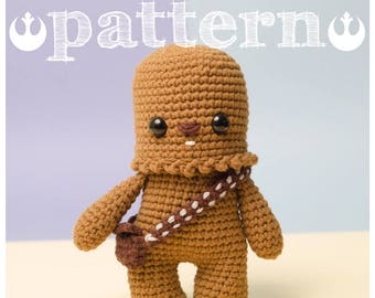 PATTERN CHEWBACCA Star Wars - Chewie wookie (pattern in English and Español)
