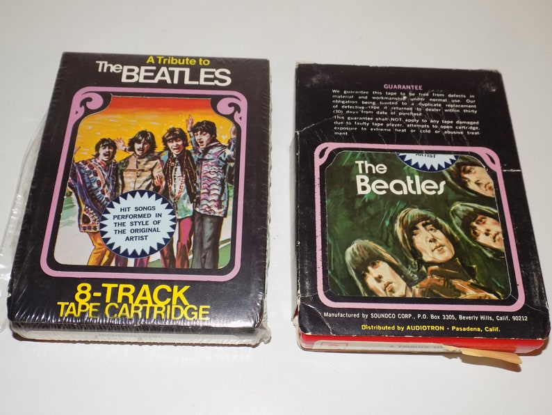 Tribute To The Beatles 8 Track Tape Cartridge Volume 1 3