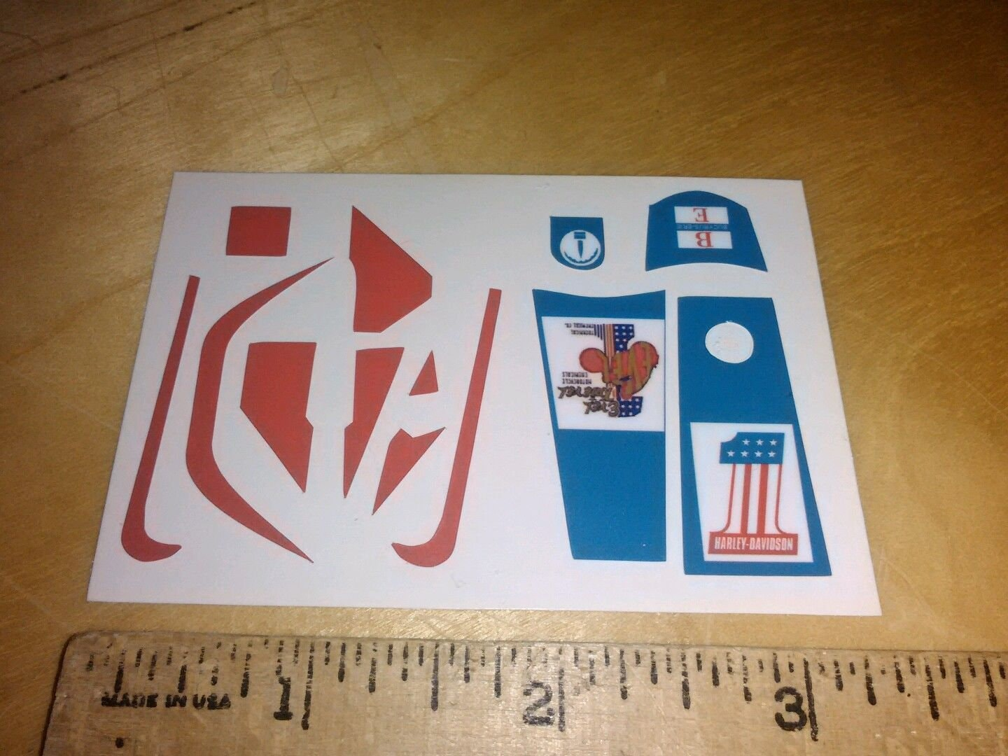 Evel knievel stunt bike stickers etsy