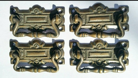 """4 Rope and Tassle Handles Pulls Antique Classic Style 2 3//4/"""" #H5"""