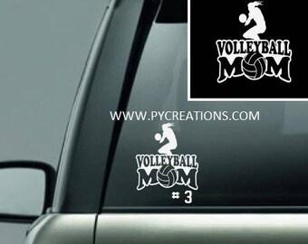 428471304d Hockey Mom Car Decal Vinyl Window Decal5.5x5.5 Personalized