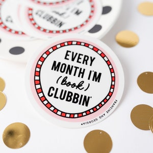 Gift for Girlfriend Book Club Button Book Club Babe Present for Friend Small Gift Reading Pin Nerd Ladies Club Reading Group