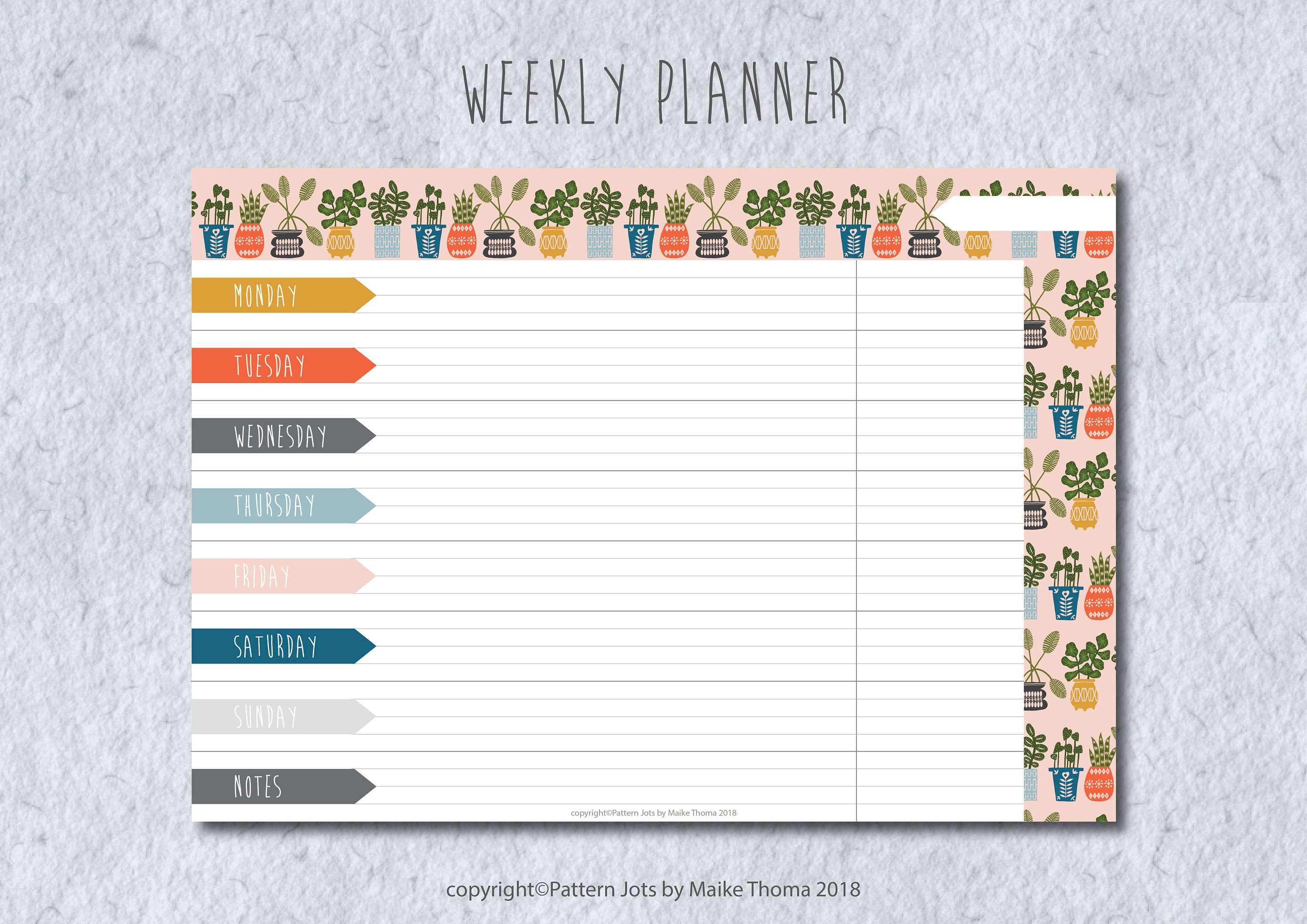 photograph regarding Weekly Planner Page titled Weekly Planner Printable Planner Web pages // Weekly Organizer // Evening meal Planner // A4, A5 and Letter Dimensions Weekly Planner Inserts // In direction of Do Listing