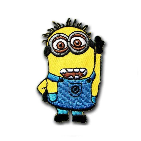 Sew On Minions Kid Cartoon Patch Badge Iron On