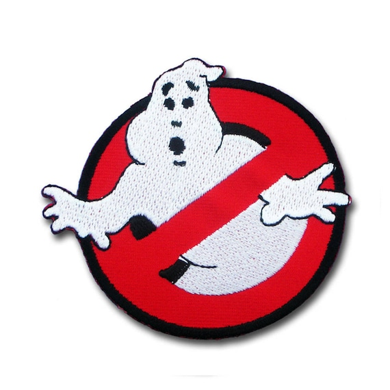 Ghostbusters Personalised embroidered name novelty, badge emblem patch