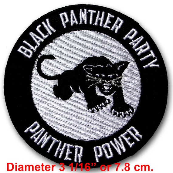Iron ON PANTHERS Punisher Skull Rockabilly Motorcycle Biker Patch