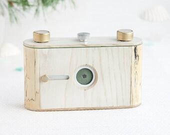 Medium format pinhole camera, 6x6, Birch