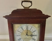 Vintage Sessions Carriage Mantle Clock Electric Model 47121 - for Parts, Restoration, Decor