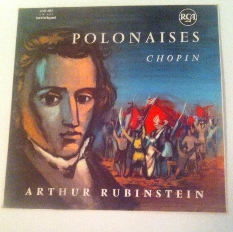 Vinyl Polonaises de Frederic Chopin / Arthur Rubinsten / image 0