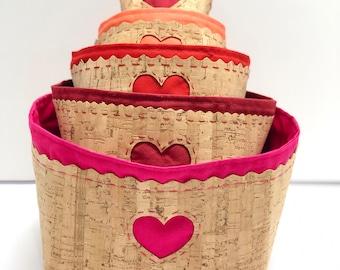 Princess Nesting Baskets PDF sewing pattern