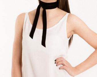 SALE 30% OFF  Juliette Velvet Choker. Neck Ribbon necklace. Free  international shipping.    Velvet ribbon. Women s tie. Choker necklace 0495392d41
