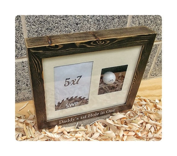 Custom Box Frame Engraved Box Frame Custom Golf Frames Wood Etsy
