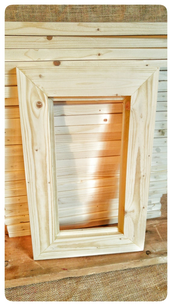 25 Wood Frames, No Hardware or Glass, Bulk Wood Frames, 5x10\