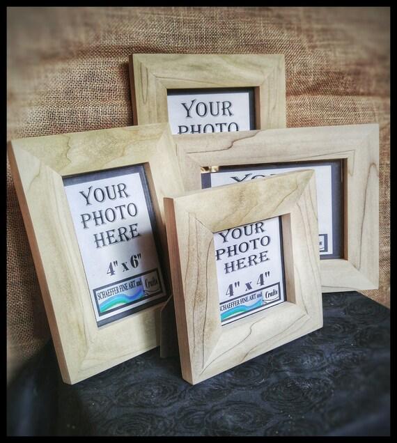 Poplar Wood Frames No Hardware Or Glass Wood For Frames Etsy