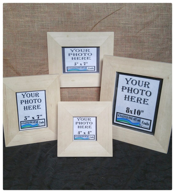 8x10 Frames No Hardware Or Glass Wood For Frames Blank Wood Etsy