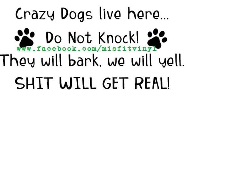 dog svg dog mom af svg dog mom svg files adult Crazy Dogs live here svg dog mom svg funny svg cricut file svg files for cricut svg