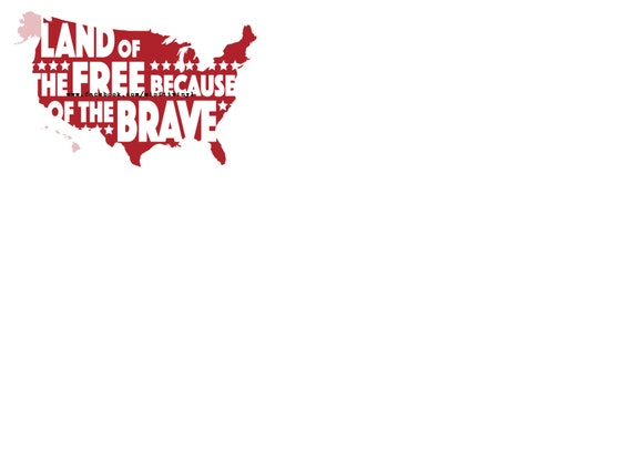 Land Of The Free Svg Svg Files For Cricut 4th Of July Svg Etsy