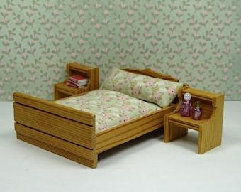 Etagenbett Für Puppenhaus : Puppenhaus vintage lundby schlafzimmer etagenbett etsy