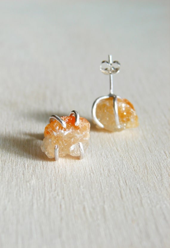 Raw Crystal Earrings R...