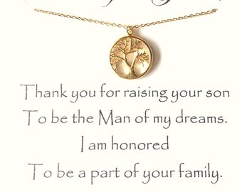 Mother of the Groom Gift, Thank You For Raising The Man Of My Dreams, Mother In Law Wedding Gift, Future Mom, Mil, Gift To Mother Of Groom