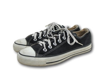 d39f22ca96a Vintage usa made converse all star black canvas low top sneaker men made in  usa jpg