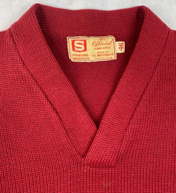 Vintage 50's STANFORD UNIVERSITY Official Varsity… - image 2