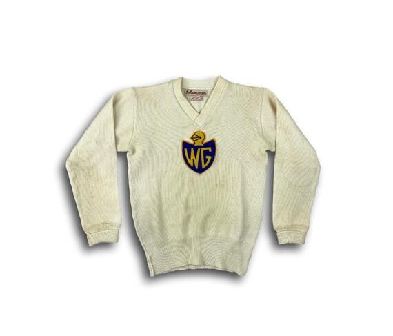 Vintage 50's Lasley Knitting Co. 100% Wool WG Knig