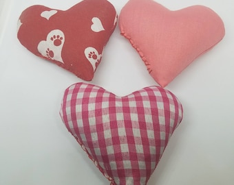 Cat toys Catnip Filled Hearts