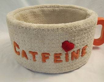 Cat Furniture CATFEINE Cup Bed Real Wood Made In USA