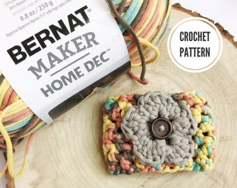 The Wildflower Cozy **PDF Pattern Only. Crochet Coffee Cozy Pattern. Coffee Sleeve Pattern. Easy Crochet Pattern.  Mothers Day. Teacher Gift